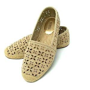 Michael Kors 9M Slip On Tan Shoes
